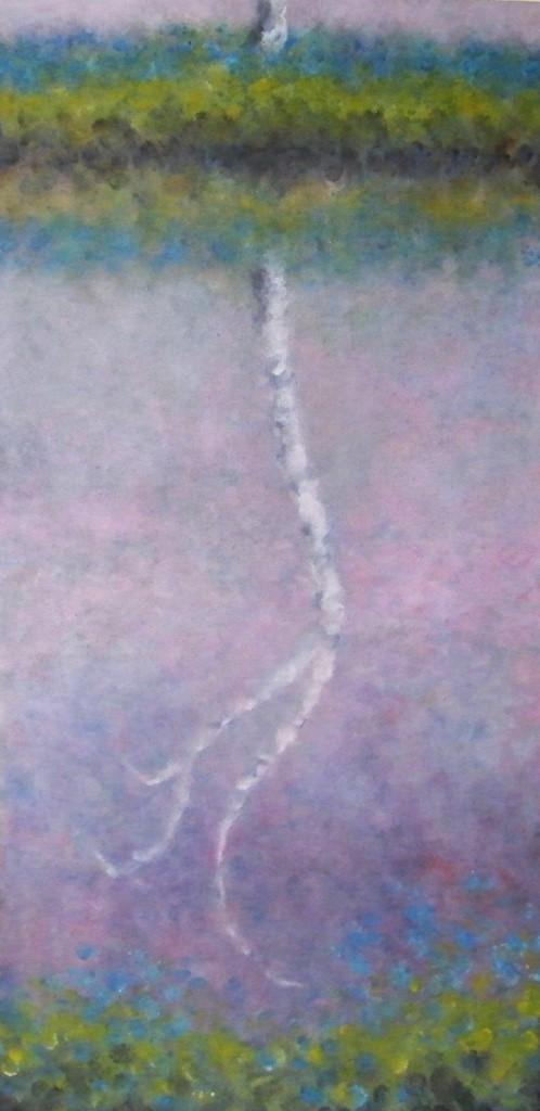 16. Birch Reflection